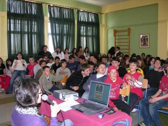 Ομιλία 2ο Γυμνάσιο Κυψ�λης 26.03.08 Συζήτηση